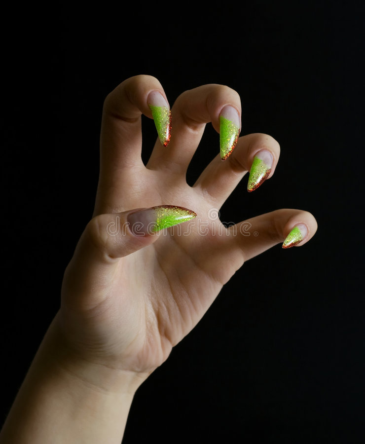 Beautifull woman hand. royalty free stock photography