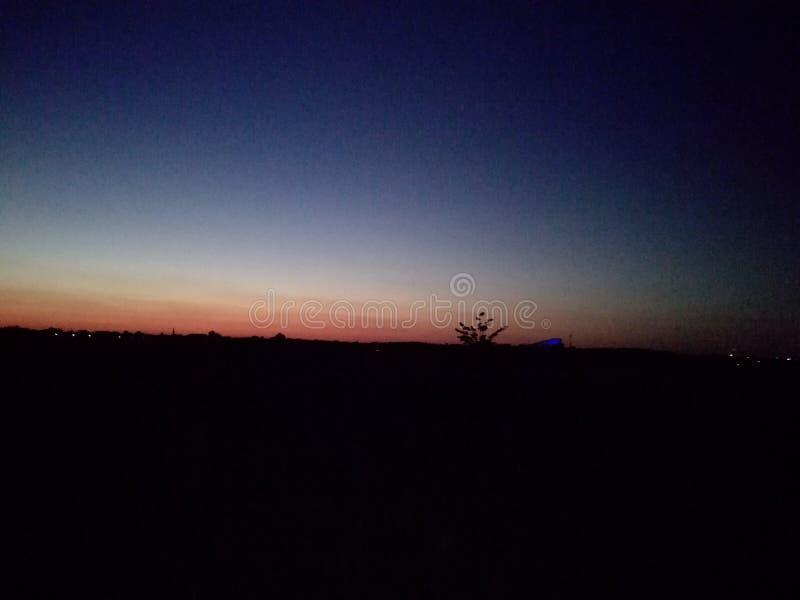 A beautiful wunset sky stock images