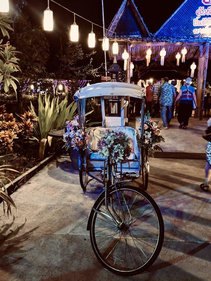 Free Beautifully Decorated Rickshaw Royalty Free Stock Photography - 174093417