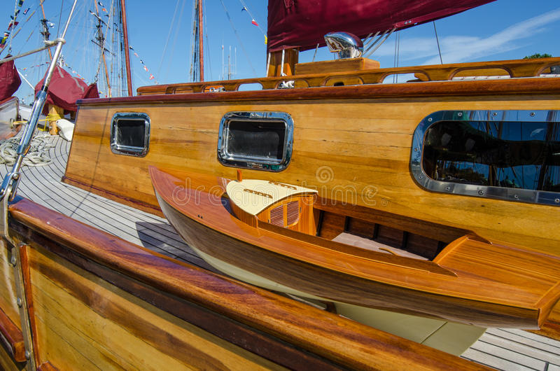 Download Beautifully Restored Classic Sail Boat Royalty Free Stock Photos - Image: 34485118