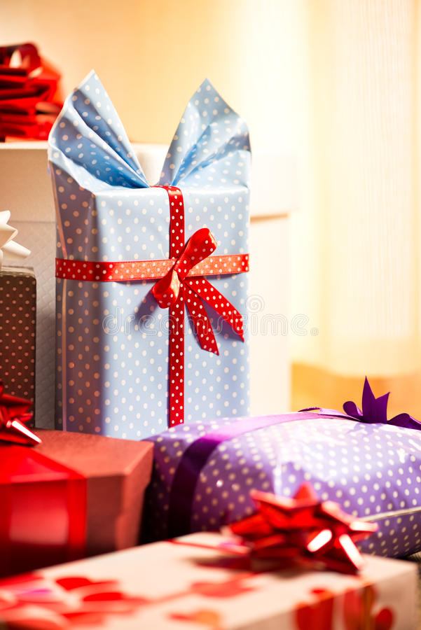 Beautifully wrapped presents stock image image of objects group download beautifully wrapped presents stock image image of objects group 47513733 negle Images