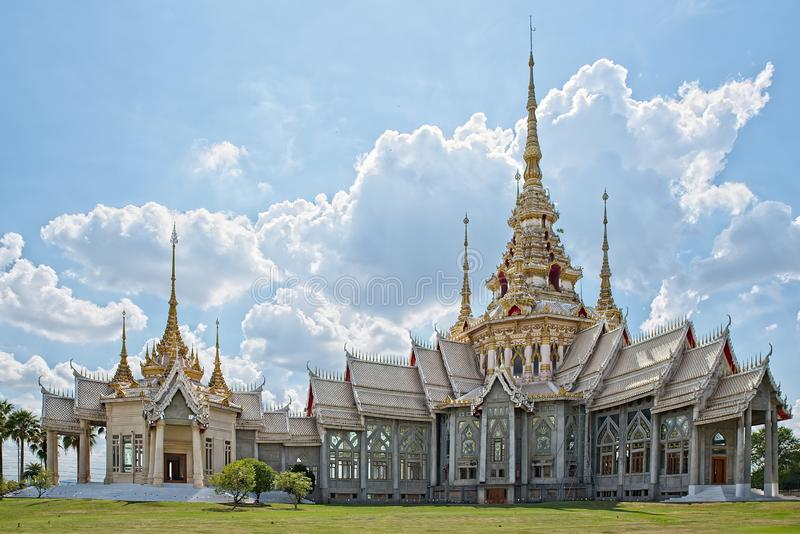 BeautifulWat Non Kum Temple royalty free stock photos