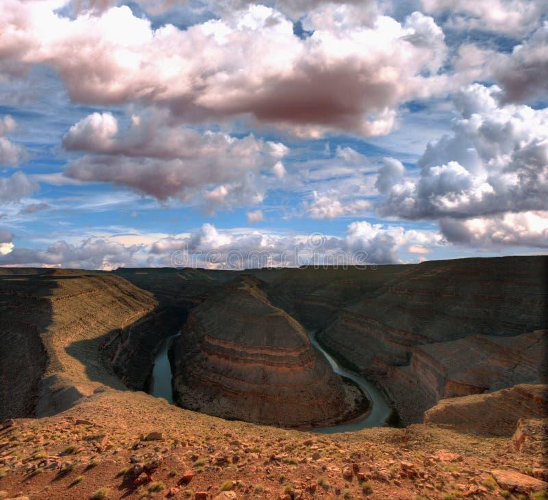 Download Beautilful Horseshoe Landmark In Arizona USA Stock Photo - Image of landscape, light: 25058980