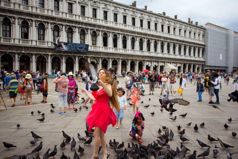 BEAUTIUL-VENEZIA, VENEDIG, ITALIEN royaltyfria bilder