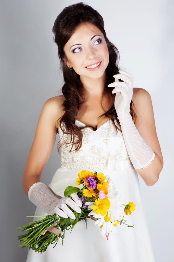 Beautuful bride portrait