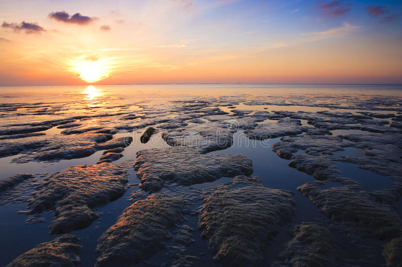 Download Beautuful Tranquil Sunset Over The Ocean Stock Image - Image: 11866061