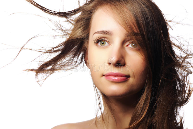 Download Beauty stock image. Image of female, make, attractive - 14324413