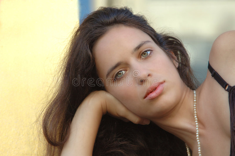 Beauty. Beautiful young lady portrait