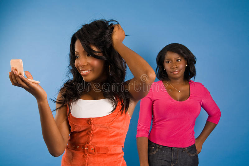 Beauty and Admiration stock photos