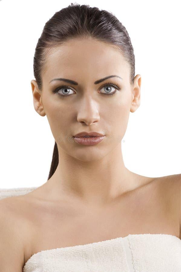 Beauty adv portrait stock images