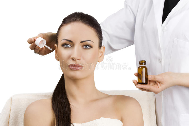Beauty adv portrait royalty free stock photos