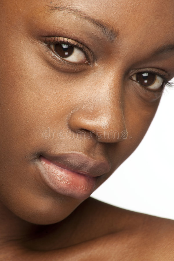 Beauty african girl royalty free stock photos