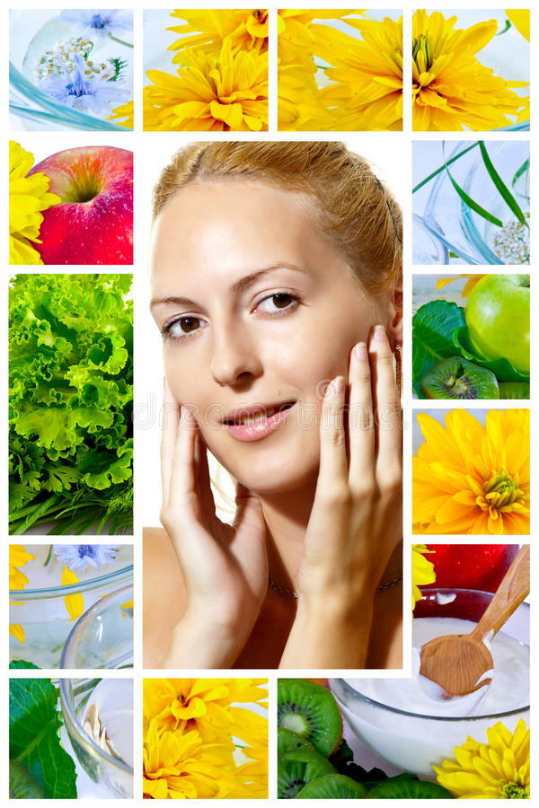 Free Beauty And Health. Skincare, Clear, Wellness Royalty Free Stock Images - 15477049