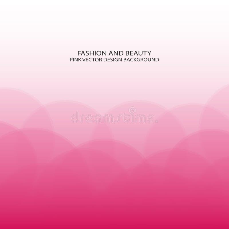 Beauty background. Fashion pink design vector illustration