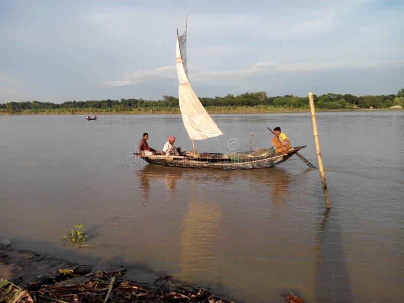 The beauty of Bangladeshi rivers stock photos