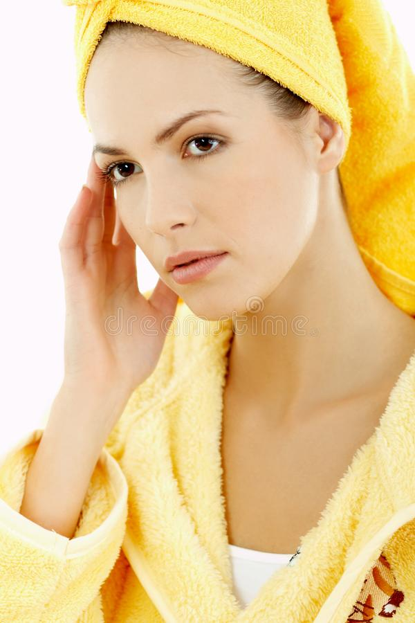 Beauty After Bath 2 Free Stock Image