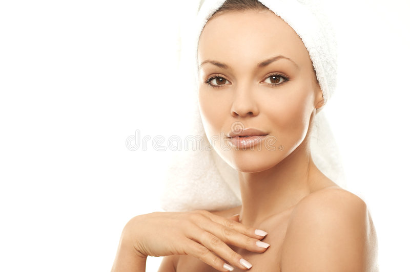 Beauty After Bath royalty free stock images