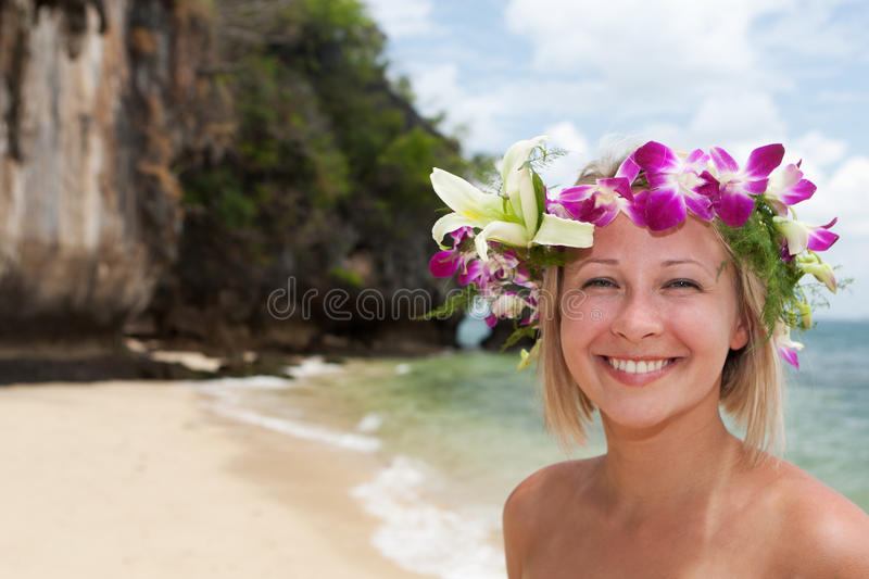 Beauty On The Beach Stock Images