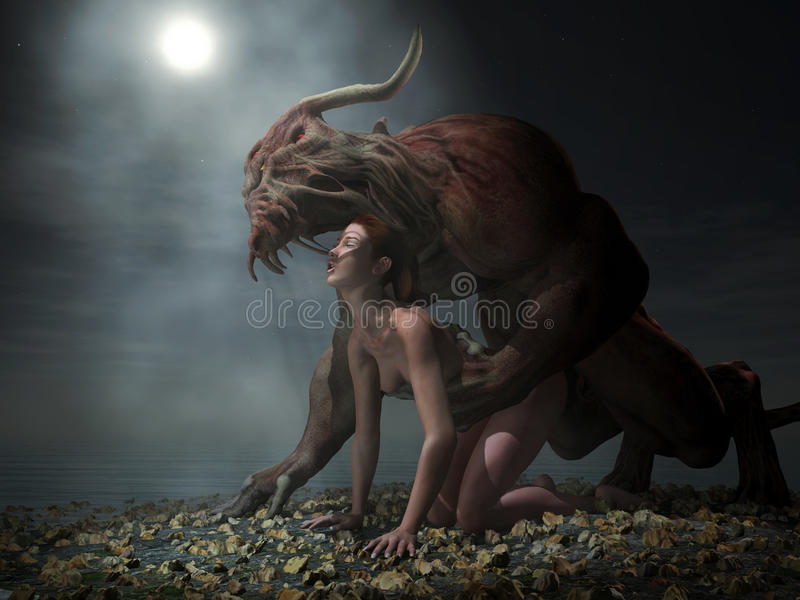 Beauty And The Beast Royalty Free Stock Image