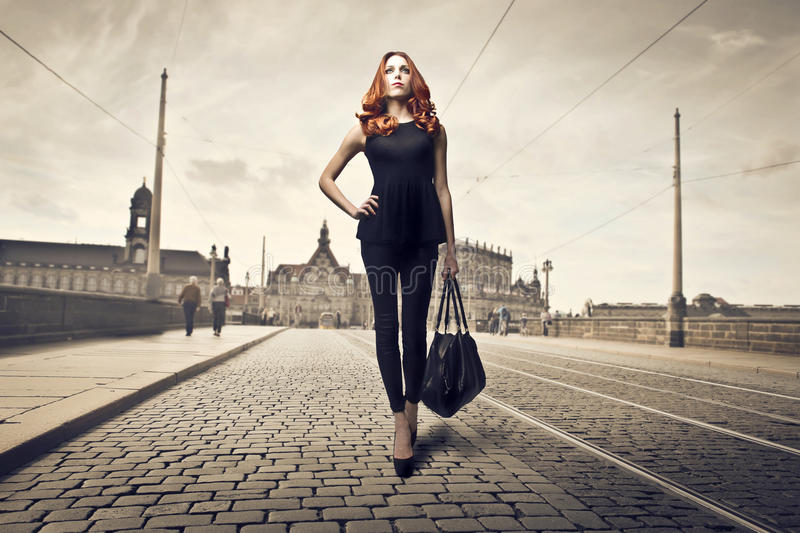 Download Beauty in Black stock photo. Image of europe, outdoor - 28248298