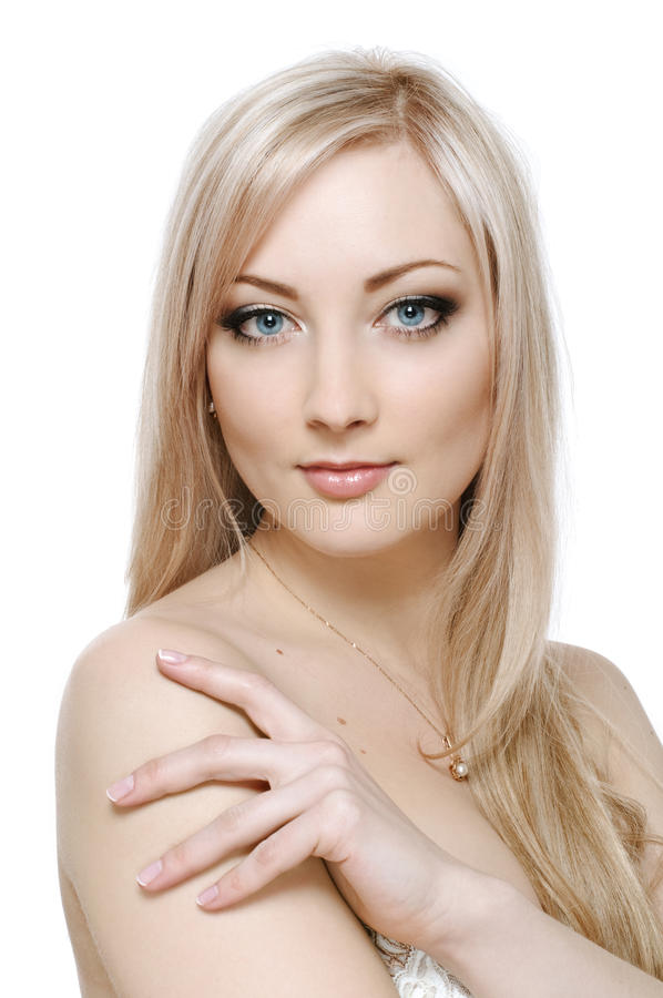 Download Beauty blonde stock photo. Image of facial, face, female - 18689568