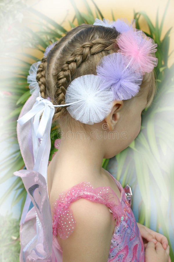 Download Beauty in braids stock image. Image of fairy, child, cute - 190293
