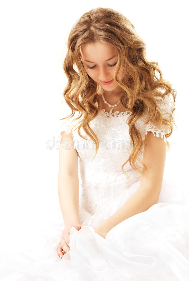 Beauty bride royalty free stock photography