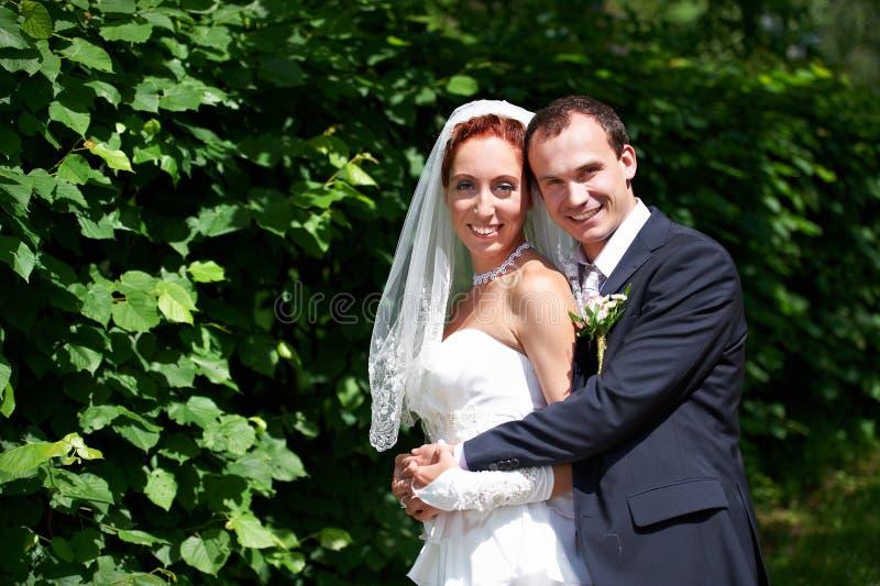 Download Beauty Bride And Groom On Wedding Walk Stock Photo - Image: 26560500