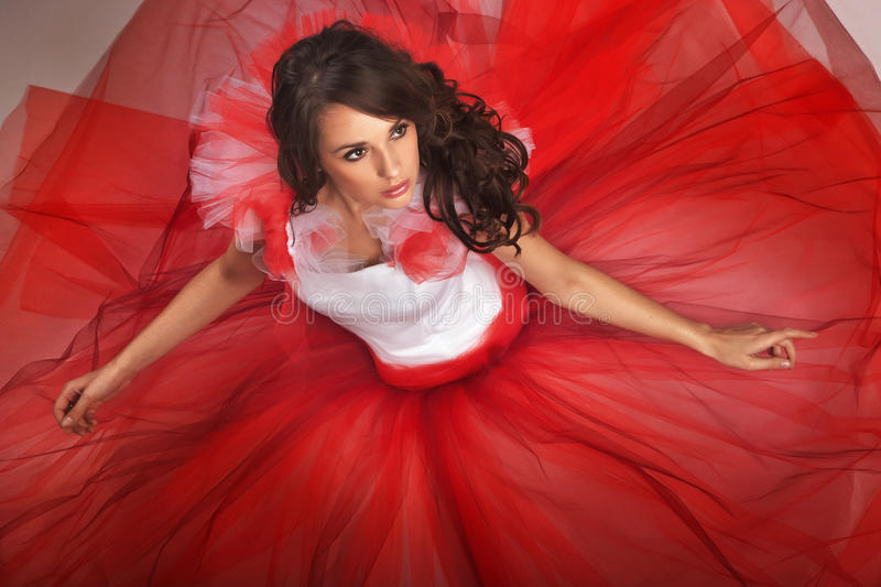 Download Beauty brunette stock photo. Image of look, hair, female - 16085004