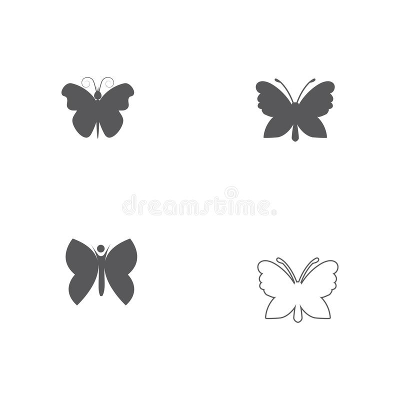 Beauty Butterfly icon design. Beauty Butterfly Vector icon design, art, beautiful, bright, circle, color, colorful, concept, cosmetics, creative, element royalty free illustration