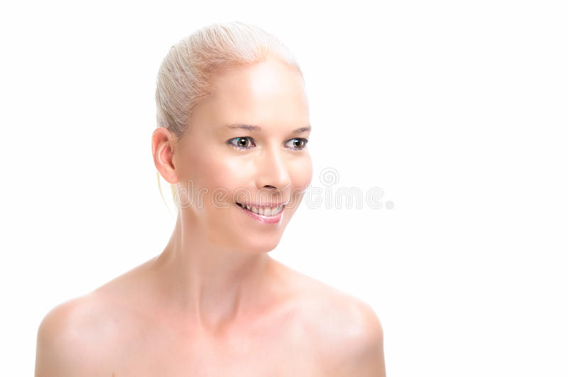 Beauty Care Model royalty free stock photo