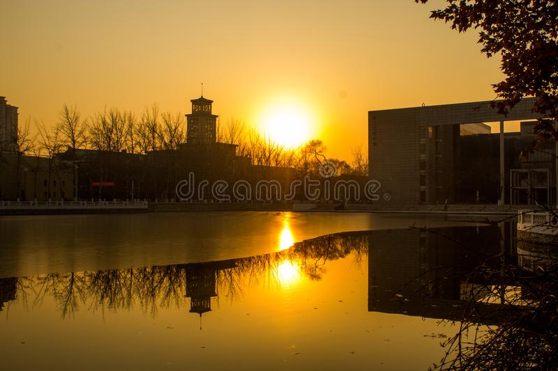 Beauty of China, Tianjin stock photography