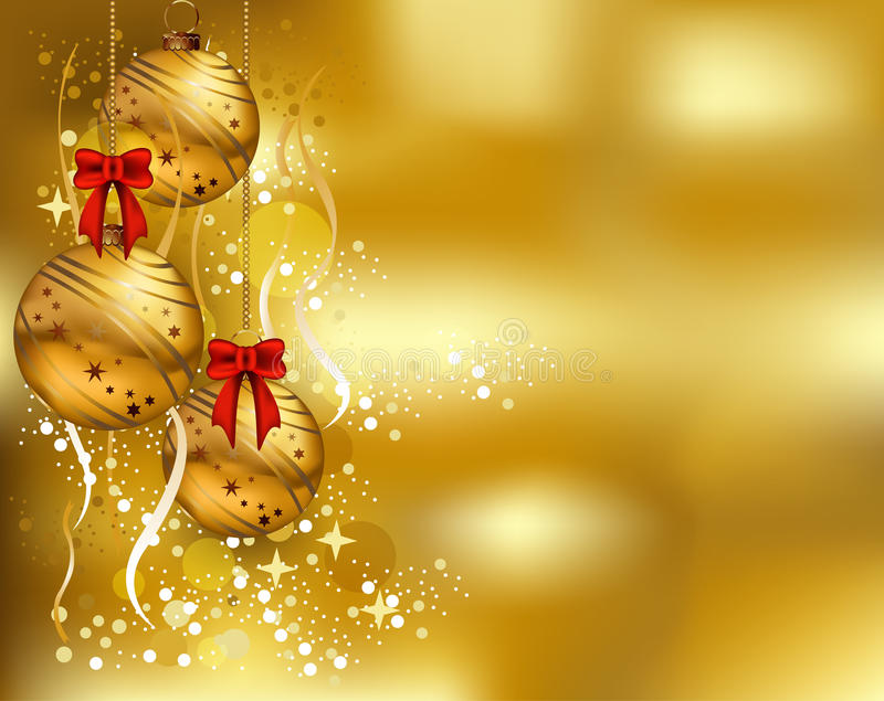 Download Beauty Christmas Card Background Stock Illustration - Image: 27397162