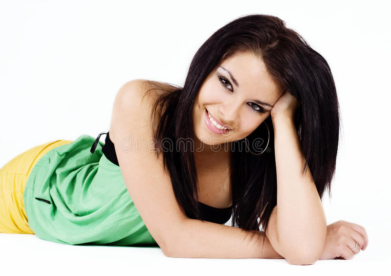 Download Beauty Close-up Face Of Young Woman Stock Image - Image: 17246271