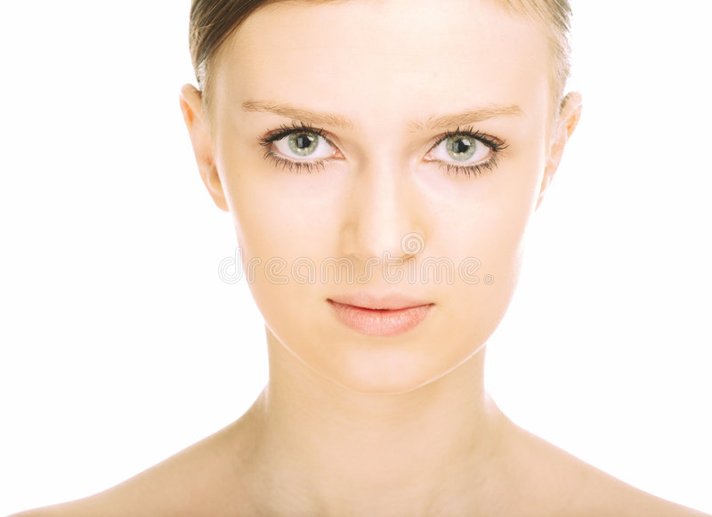 Download Beauty Close-up Portrait Young Woman Face Stock Photo - Image: 8585272