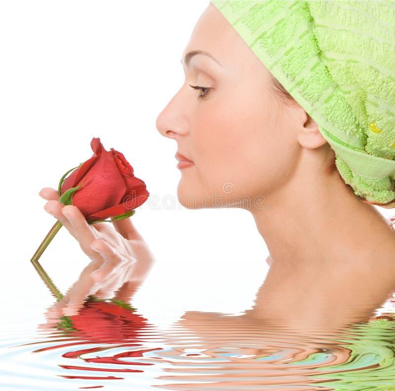 Beauty Close-up  Spa Woman Stock Photography