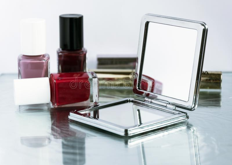Beauty composition , make-up concept. stock image