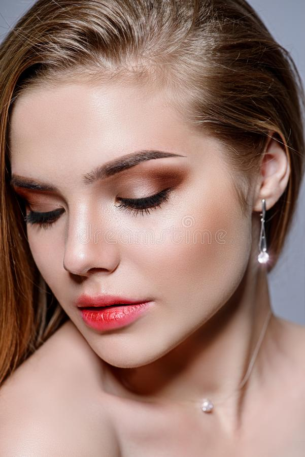 Cosmetics for face royalty free stock photos