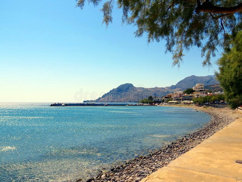 Landscapes of the Southern Crete royalty free stock image