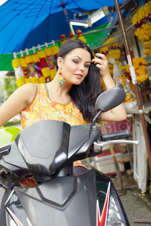 Download Beauty in everywere stock photo. Image of thailand, motobike - 26599204