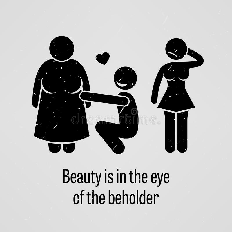 beauty in the eyes of the beholder - essay Beauty is in the eye of the beholder introduction beauty is a characteristic that a person has which can be defined as anything that appeals the other person.