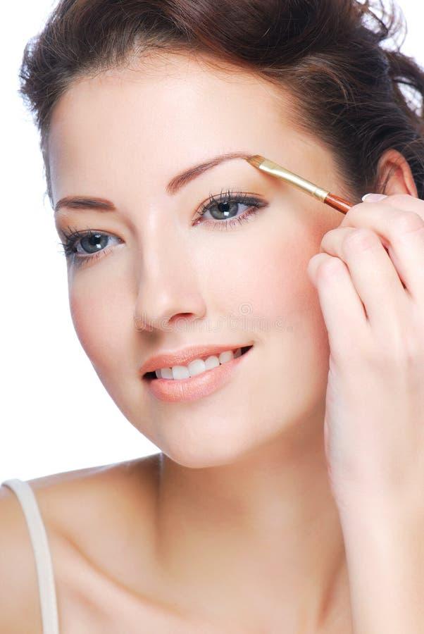 Beauty Eyebrows Stock Photos