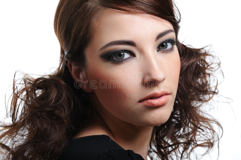 beauty eyes woman στοκ εικόνα
