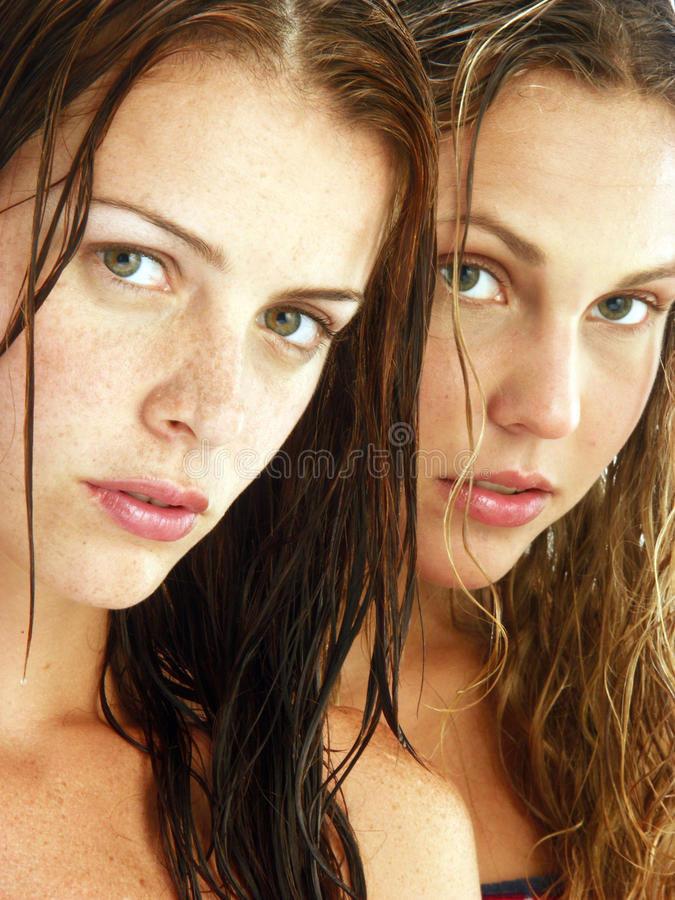 Beauty faces. royalty free stock photography
