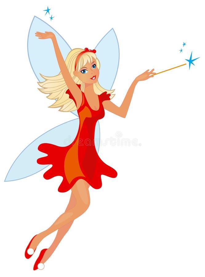 Beauty fairy vector illustration