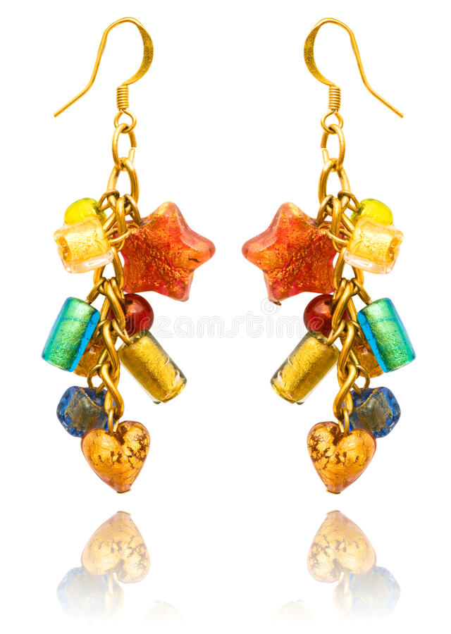 Download Beauty Fashion Concept - Earrings Stock Photo - Image: 23990244
