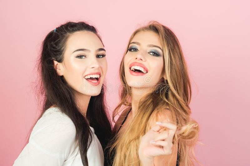 Beauty and fashion, makeup. stock photography