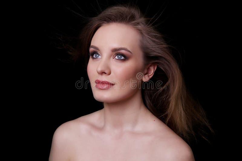 Beauty Fashion Model Woman , portrait. stock photos
