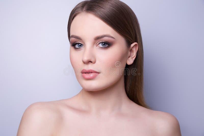 Beauty Fashion Model Woman , portrait. royalty free stock image