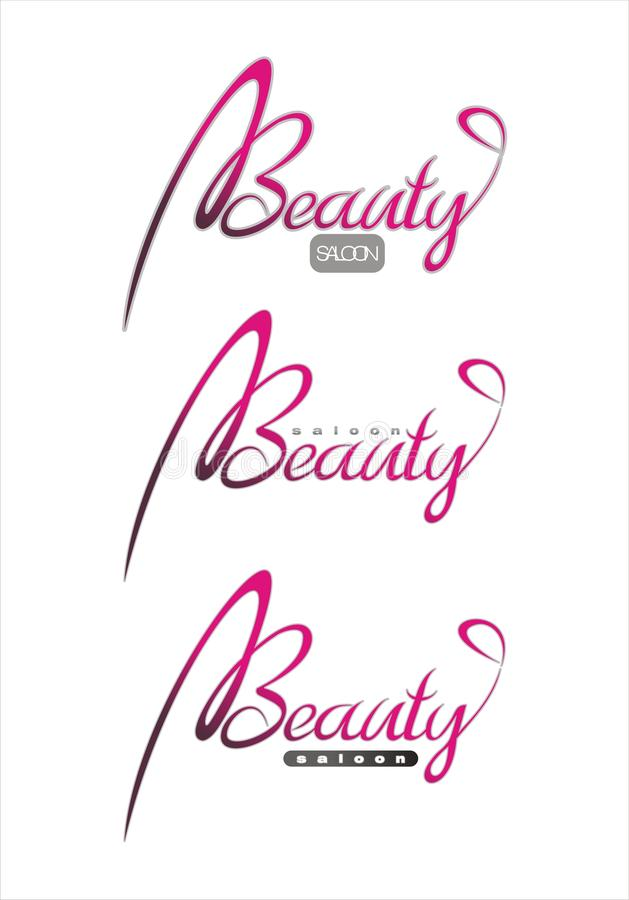 Download Beauty fashion saloon text stock vector. Image of outdoor - 9915901